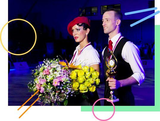 Vítězství MČR Show Dance - Vítězslav Rázek, Kristýna Mücková